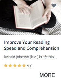 Improve Your Reading Speed and Comprehension