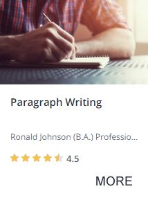 Paragraph writing course